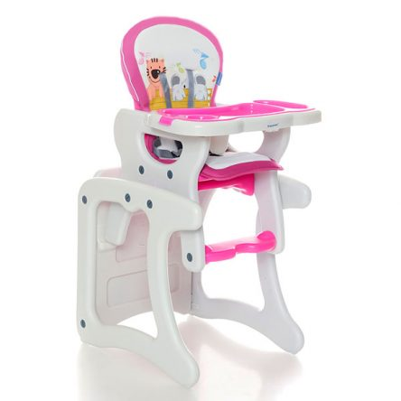Krausman – Scaun de masa multifunctional Lofty Pink