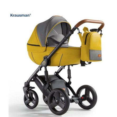 Krausman – Carucior 3 in 1 Nexxo Yellow