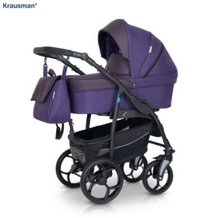 Krausman – Carucior 3 in 1 Combo Max Purple