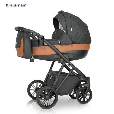 Krausman – Carucior 3 in 1 LEXXO Black Caramel