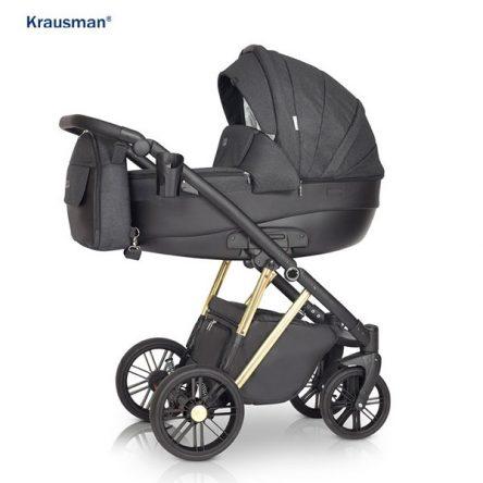 Krausman – Carucior 3 in 1 LEXXO Gold Black