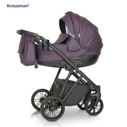Krausman – Carucior 3 in 1 LEXXO Purple