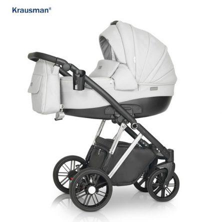 Krausman – Carucior 3 in 1 LEXXO Silver Gray