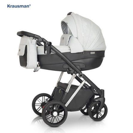 Krausman – Carucior 3 in 1 LEXXO Silver Gray Black