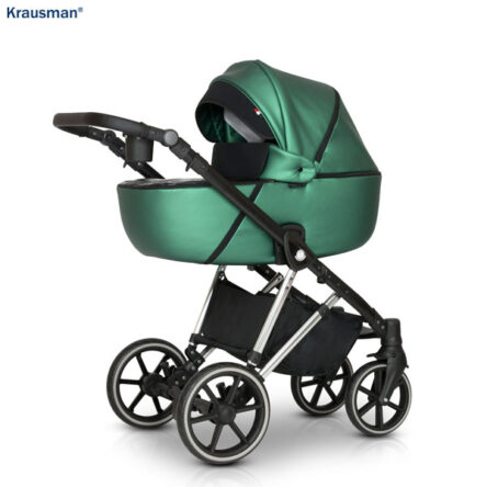 Krausman – Carucior 3 in 1 Xplorer Green Shiny
