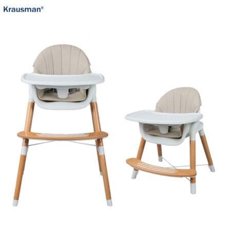 Krausman – Scaun de masa LYRA 2 in 1 Beige