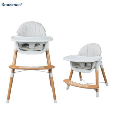 Krausman – Scaun de masa LYRA 2 in 1 Grey