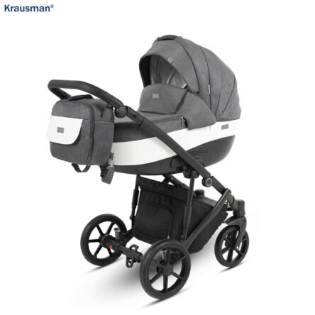 Krausman – Carucior 3 in 1 Owo Plus Dark Grey