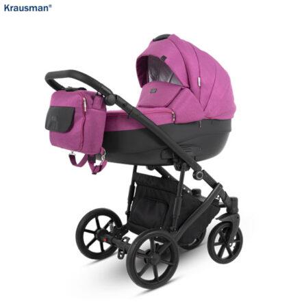 Krausman – Carucior 3 in 1 Owo Plus Pink