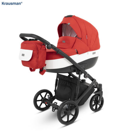 Krausman – Carucior 3 in 1 Owo Plus Red