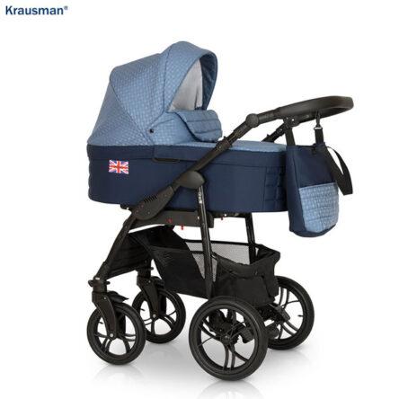 Krausman – Carucior 3 in 1 Combi Dark Blue