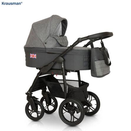 Krausman – Carucior 3 in 1 Combi Dark Grey