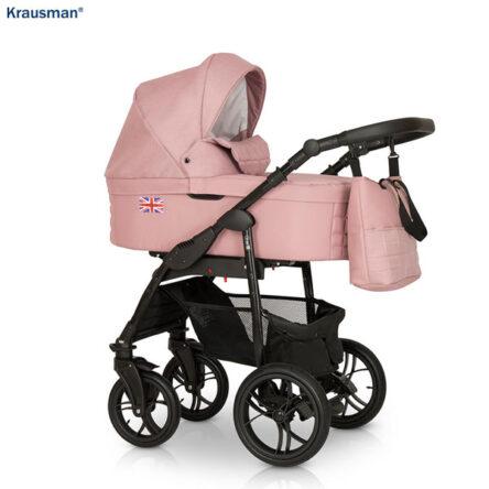 Krausman – Carucior 3 in 1 Combi Pink