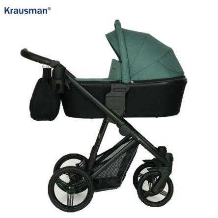 Krausman – Carucior 3 in 1 Aterra Black-Green