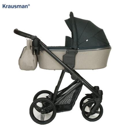 Krausman – Carucior 3 in 1 Aterra Dark-Beige