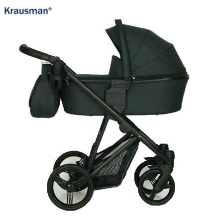 Krausman – Carucior 3 in 1 Aterra Dark-Grey