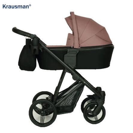 Krausman – Carucior 3 in 1 Aterra Dark-Pink