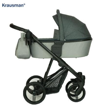 Krausman – Carucior 3 in 1 Aterra Grey